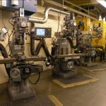 Four Sharpe Mills with ACU-RITE 2 axis control