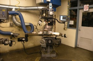 One Sharpe Mill with ACU-RITE 3 Axis Control