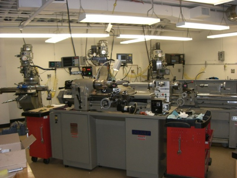Machine shop » Scientific Instrument Facility » Boston University